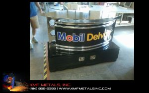 Mobil Oil Display